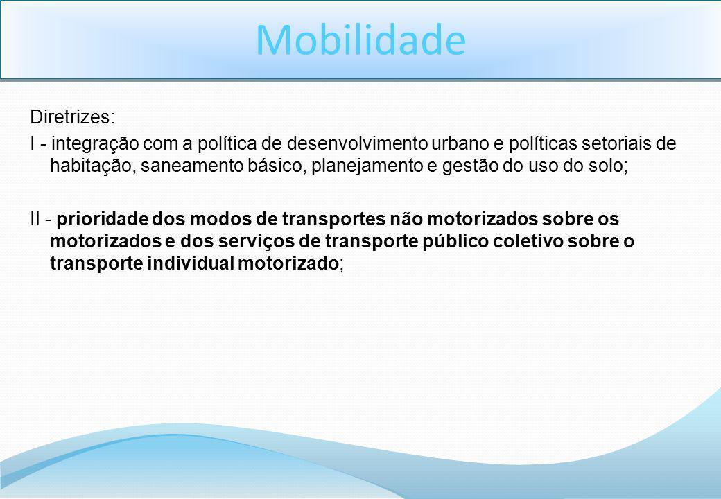 Mobilidade Diretrizes: