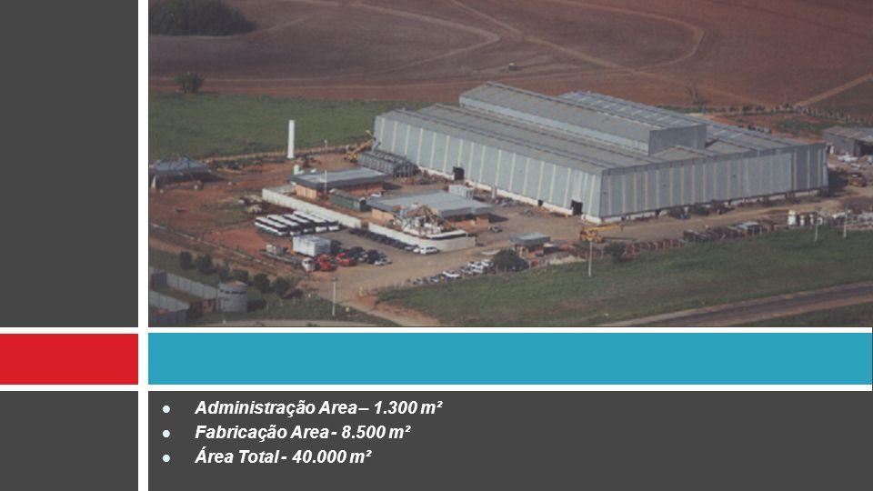 Administração Area – 1.300 m²