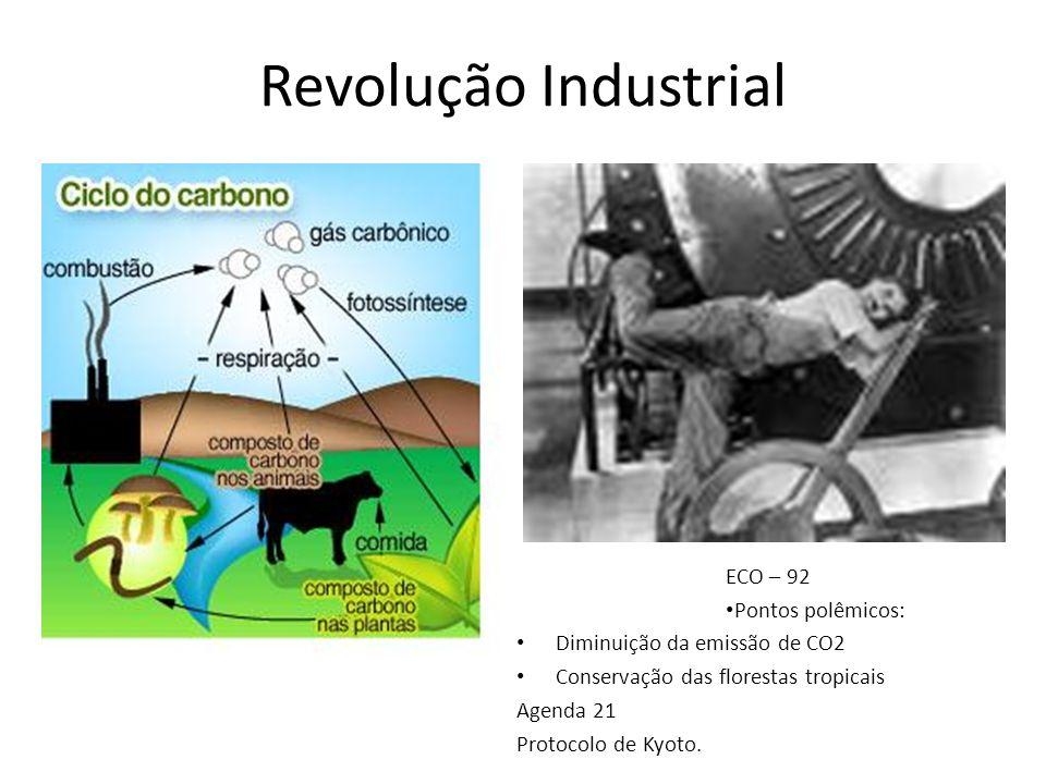 Revolução Industrial ECO – 92 Pontos polêmicos: