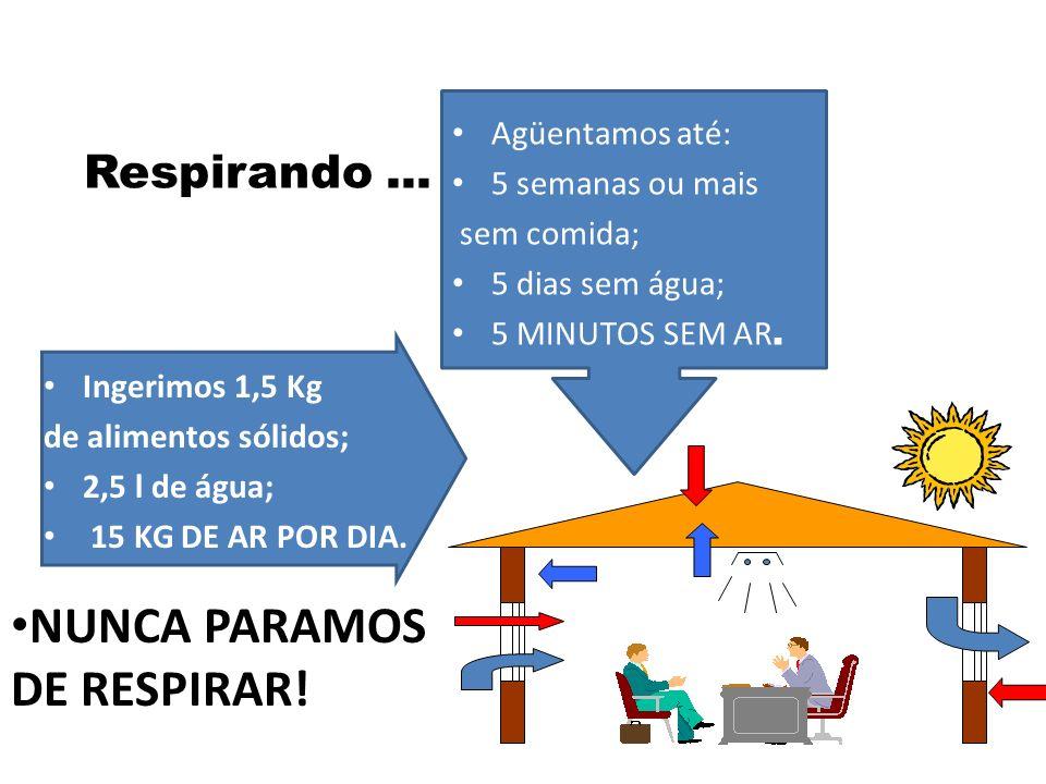NUNCA PARAMOS DE RESPIRAR!