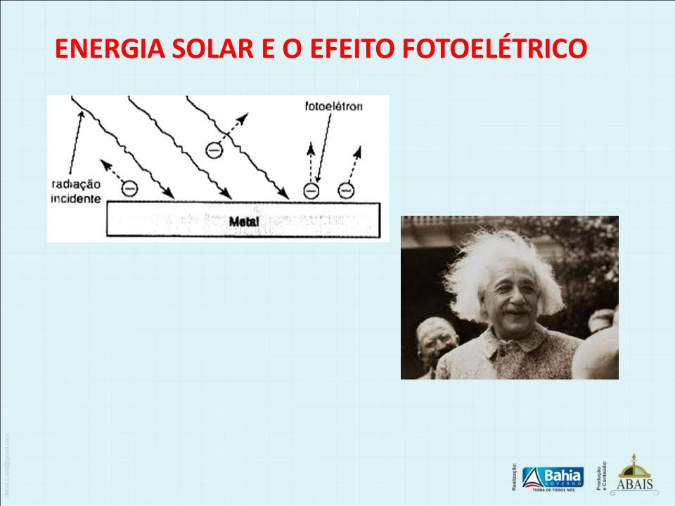 ENERGIA SOLAR E O EFEITO FOTOELÉTRICO