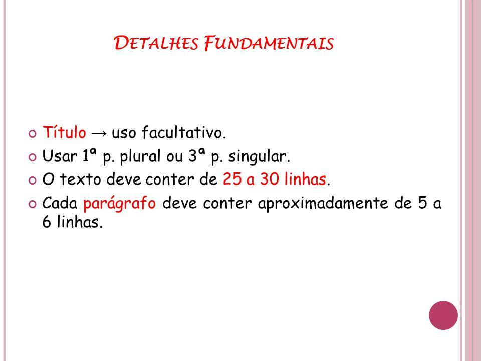 Detalhes Fundamentais
