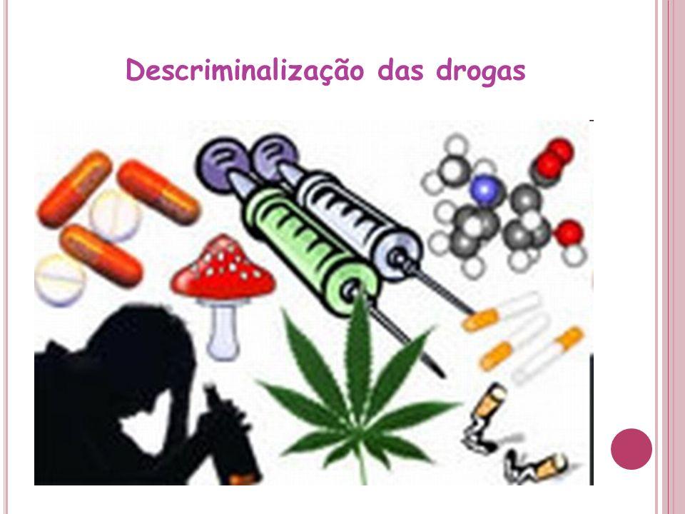 Descriminalização das drogas