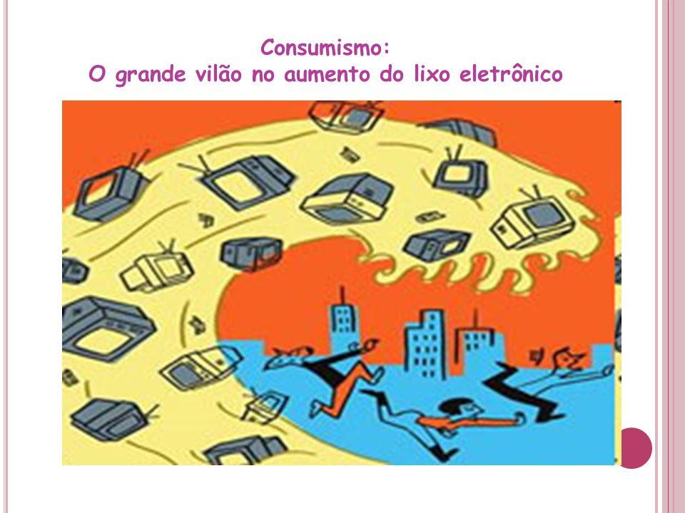 Consumismo: O grande vilão no aumento do lixo eletrônico