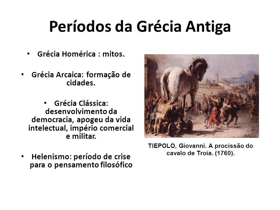 Períodos da Grécia Antiga