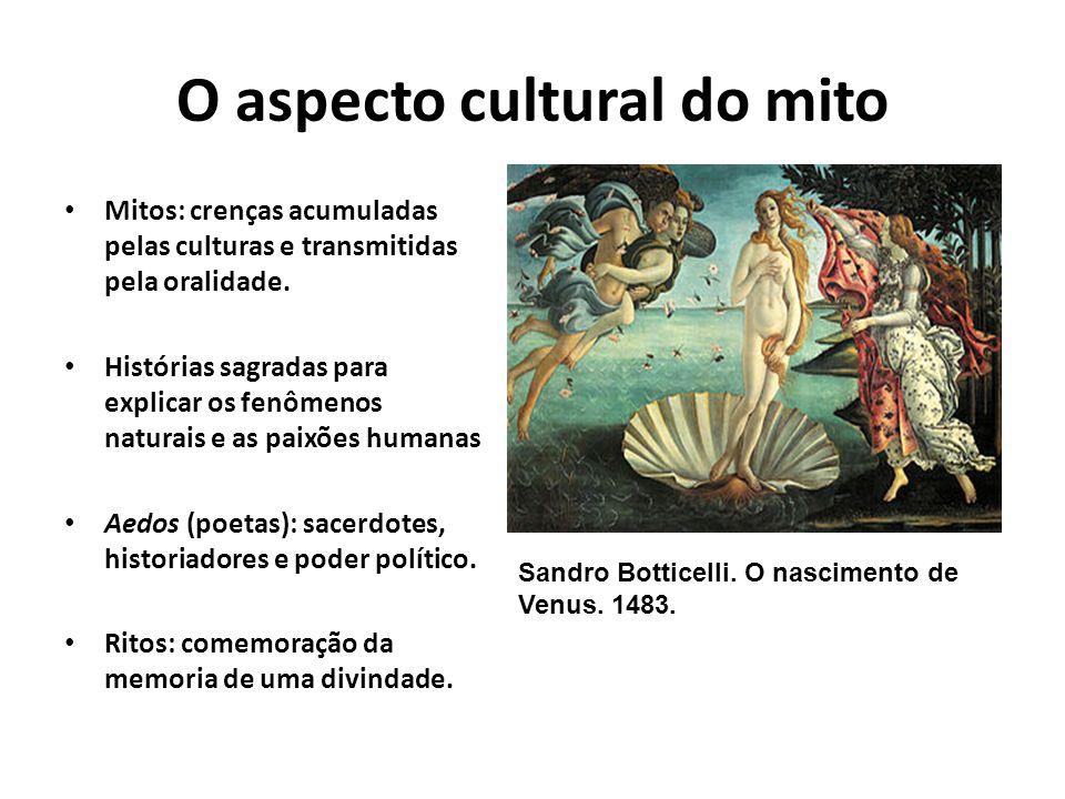 O aspecto cultural do mito