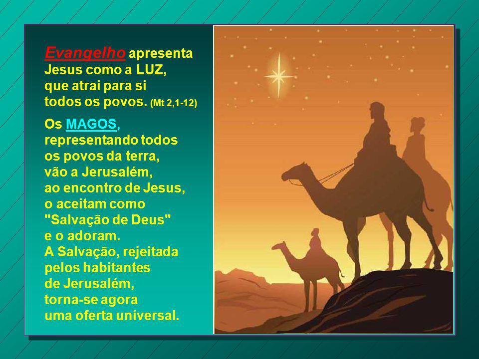 Evangelho apresenta Jesus como a LUZ,