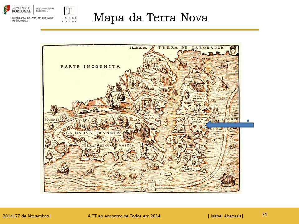 Mapa da Terra Nova
