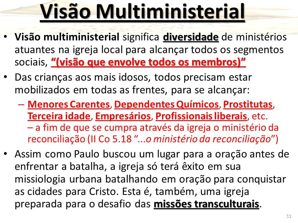 Visão Multiministerial