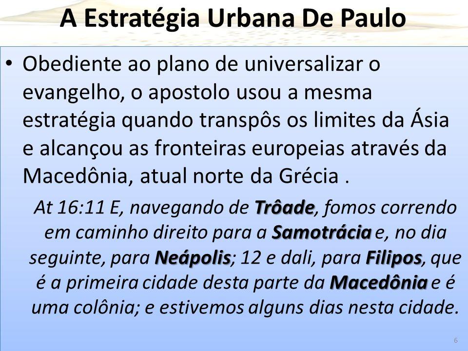 A Estratégia Urbana De Paulo