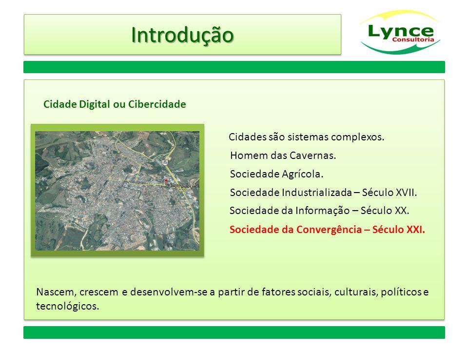 Introdução Cidade Digital ou Cibercidade