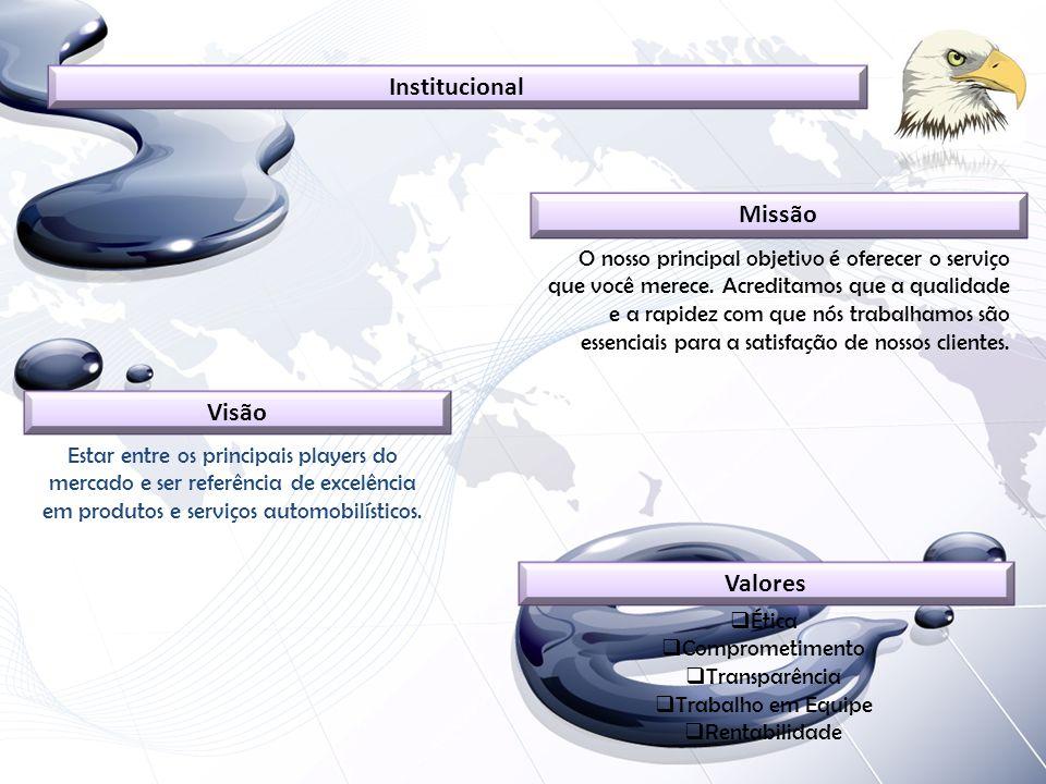 Institucional Missão Visão Valores