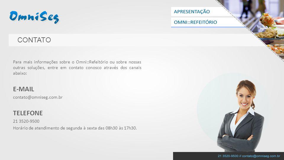 CONTATO E-MAIL TELEFONE