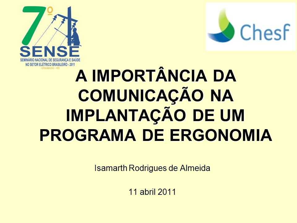 Isamarth Rodrigues de Almeida 11 abril 2011