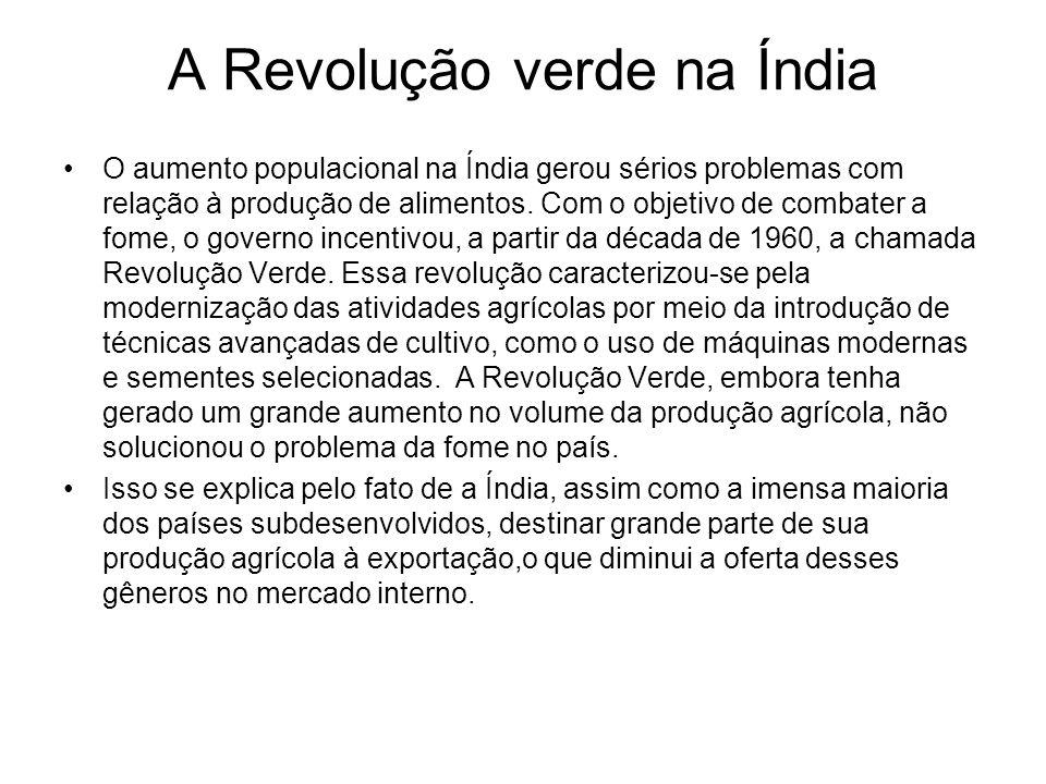A Revolução verde na Índia