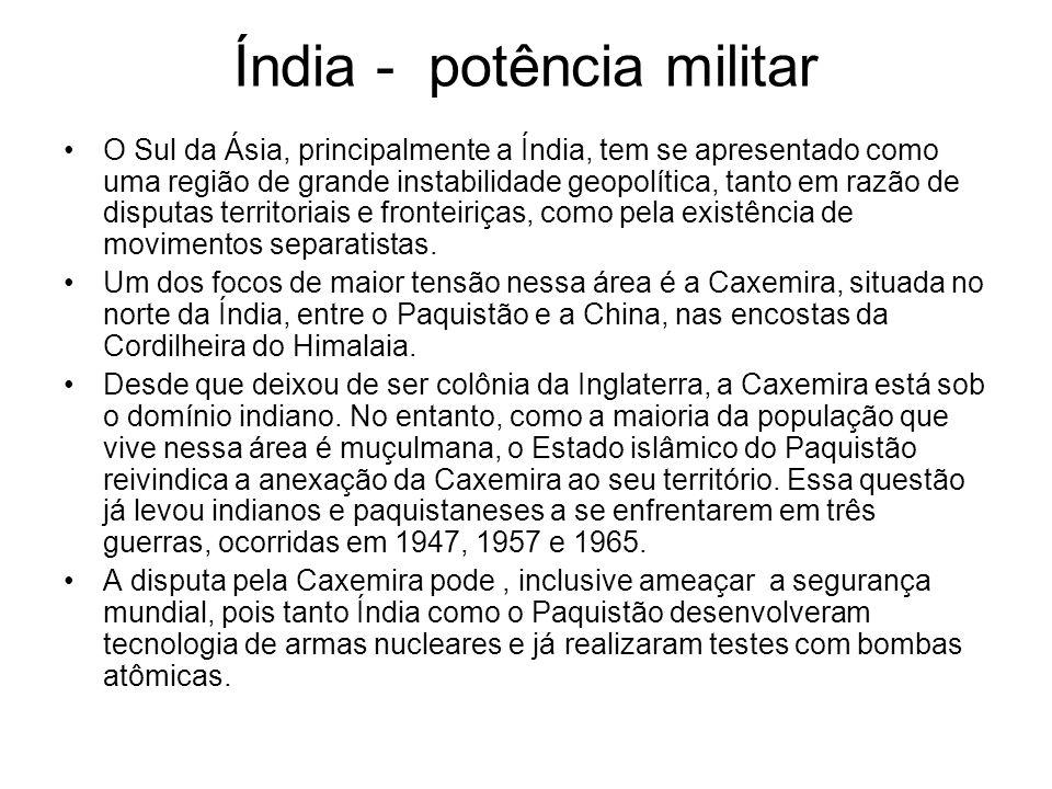 Índia - potência militar