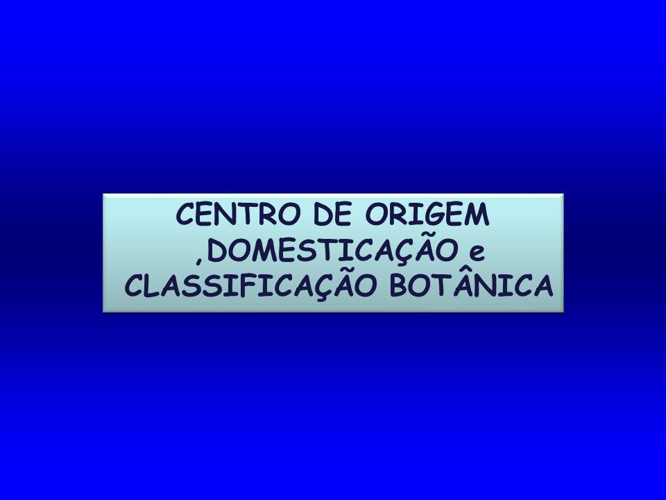 CLASSIFICAÇÃO BOTÂNICA
