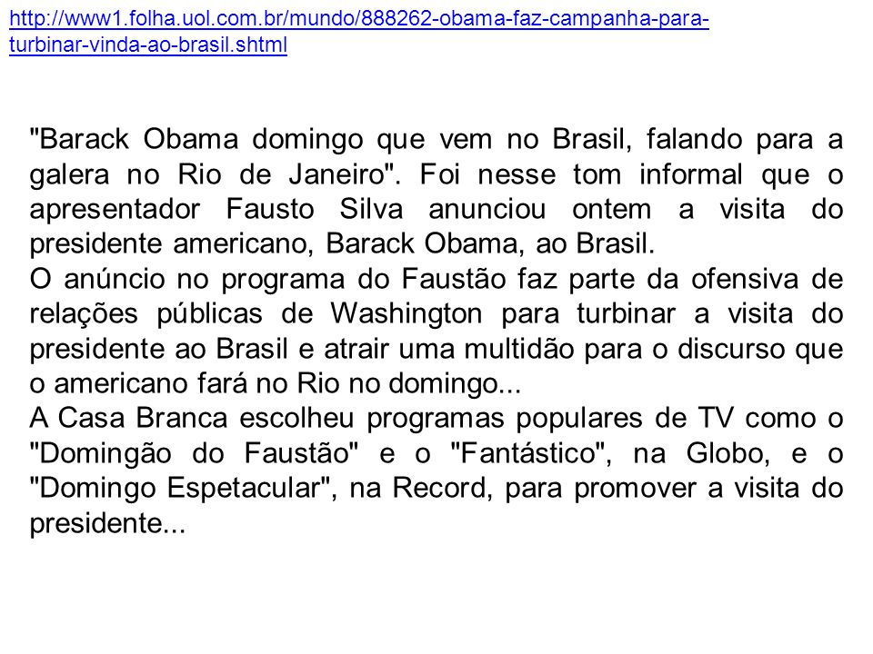 http://www1. folha. uol. com