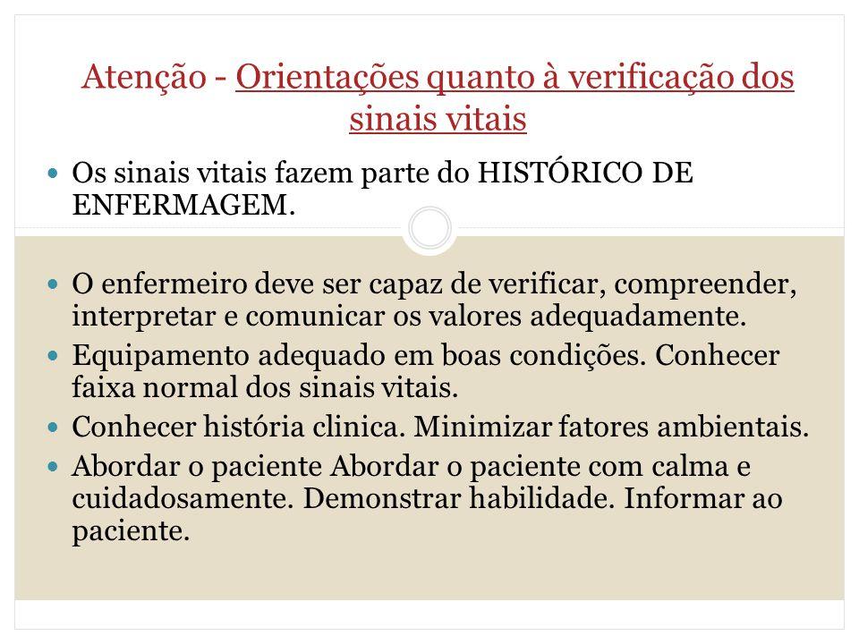 Well-known A IMPORTÂNCIA DOS SINAIS VITAIS - ppt carregar EN39