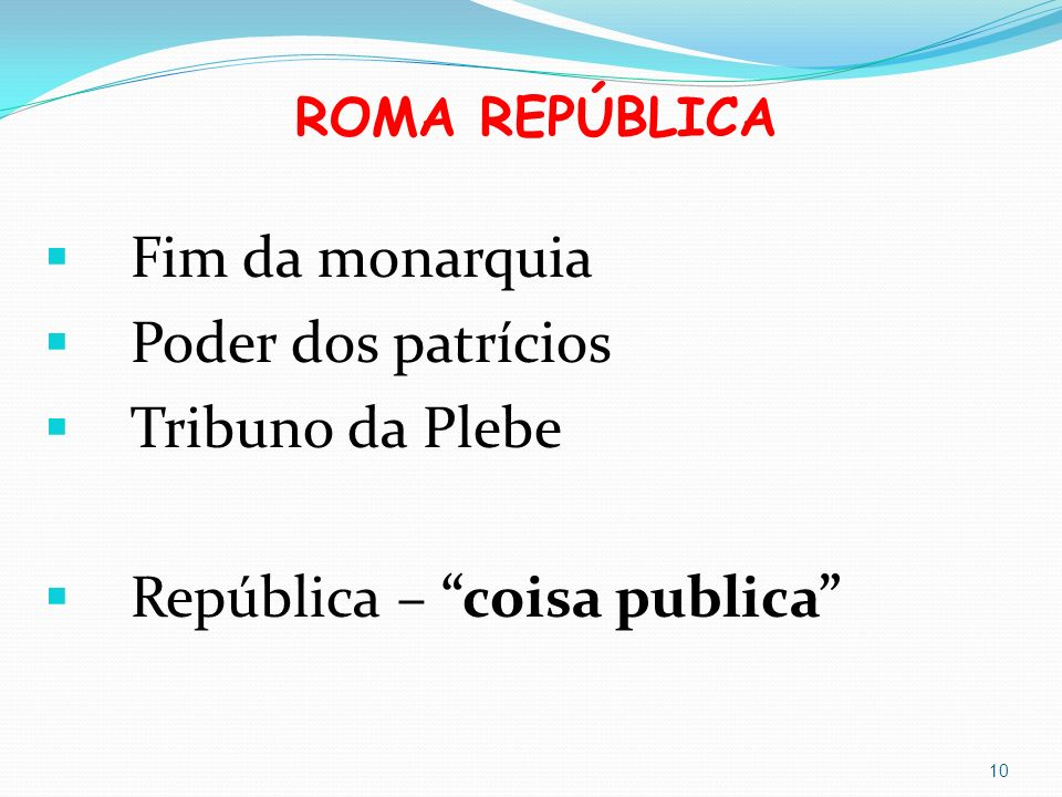 República – coisa publica