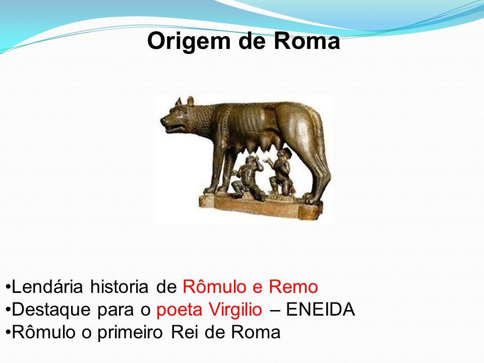 Origem de Roma Lendária historia de Rômulo e Remo