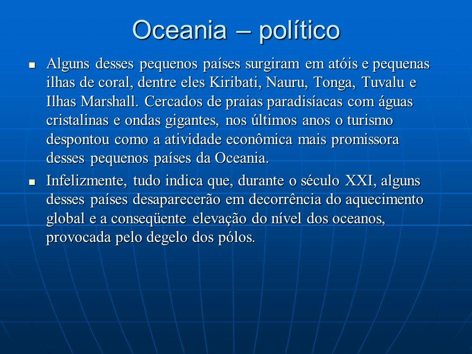 Oceania – político