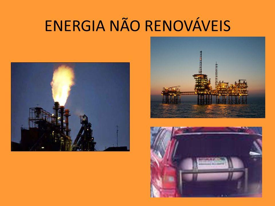 ENERGIA NÃO RENOVÁVEIS