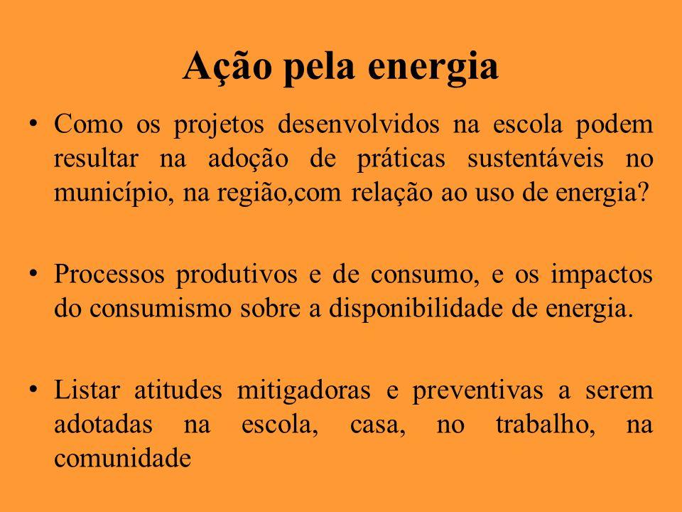 Ação pela energia