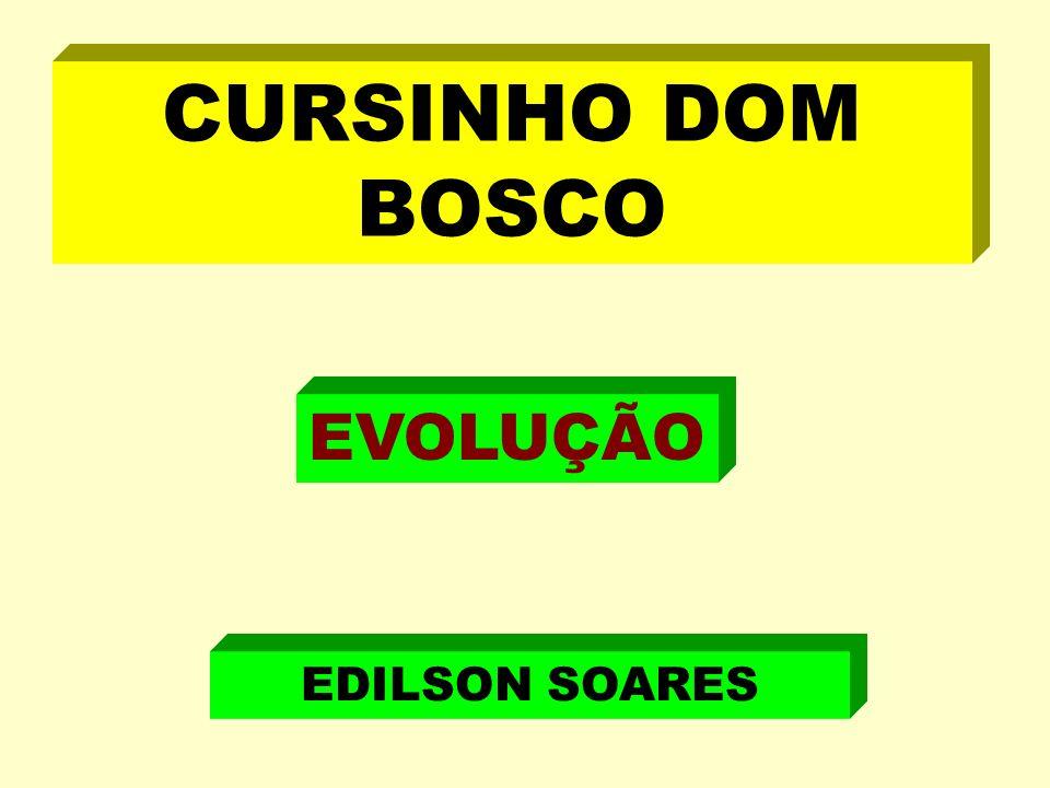 CURSINHO DOM BOSCO EVOLUÇÃO EDILSON SOARES