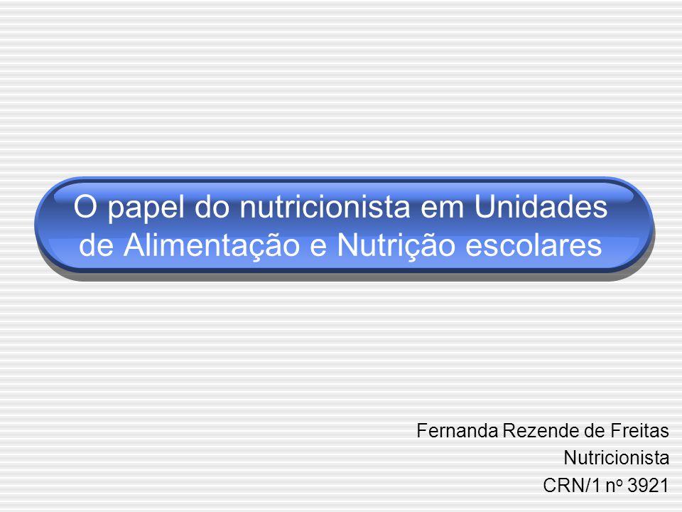 Fernanda Rezende de Freitas Nutricionista CRN/1 no 3921