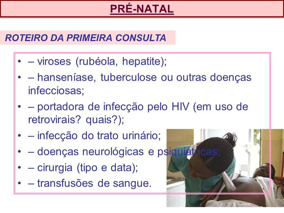 – viroses (rubéola, hepatite);