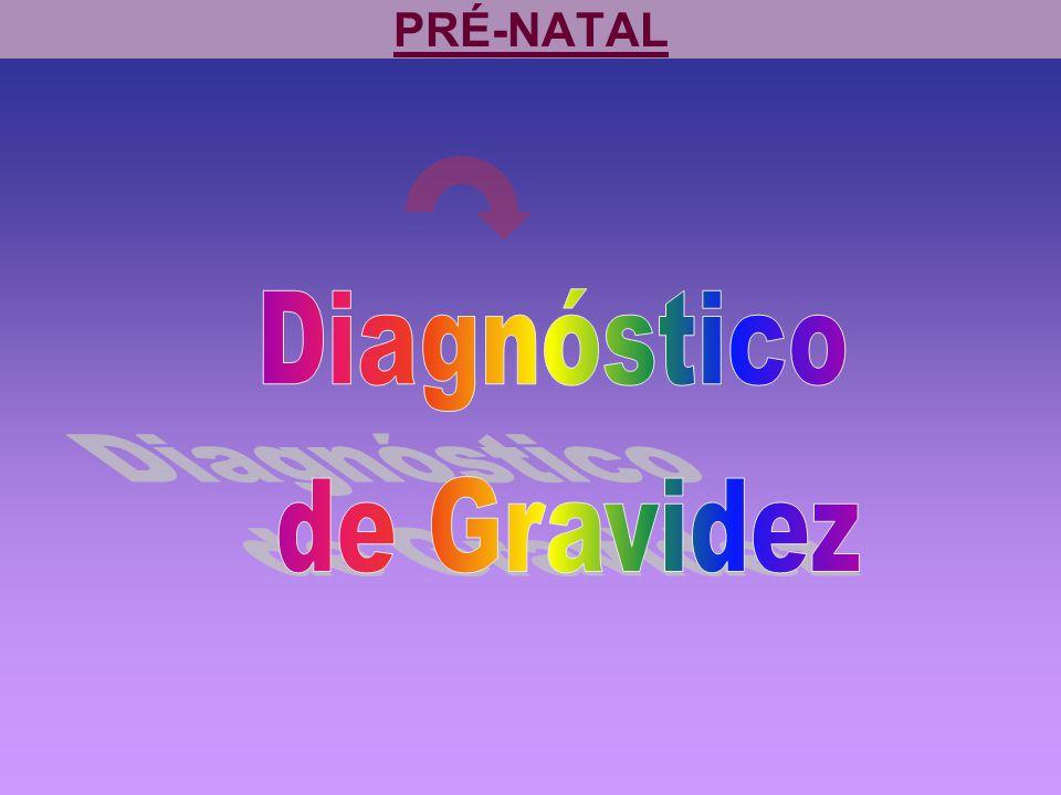 PRÉ-NATAL Diagnóstico de Gravidez