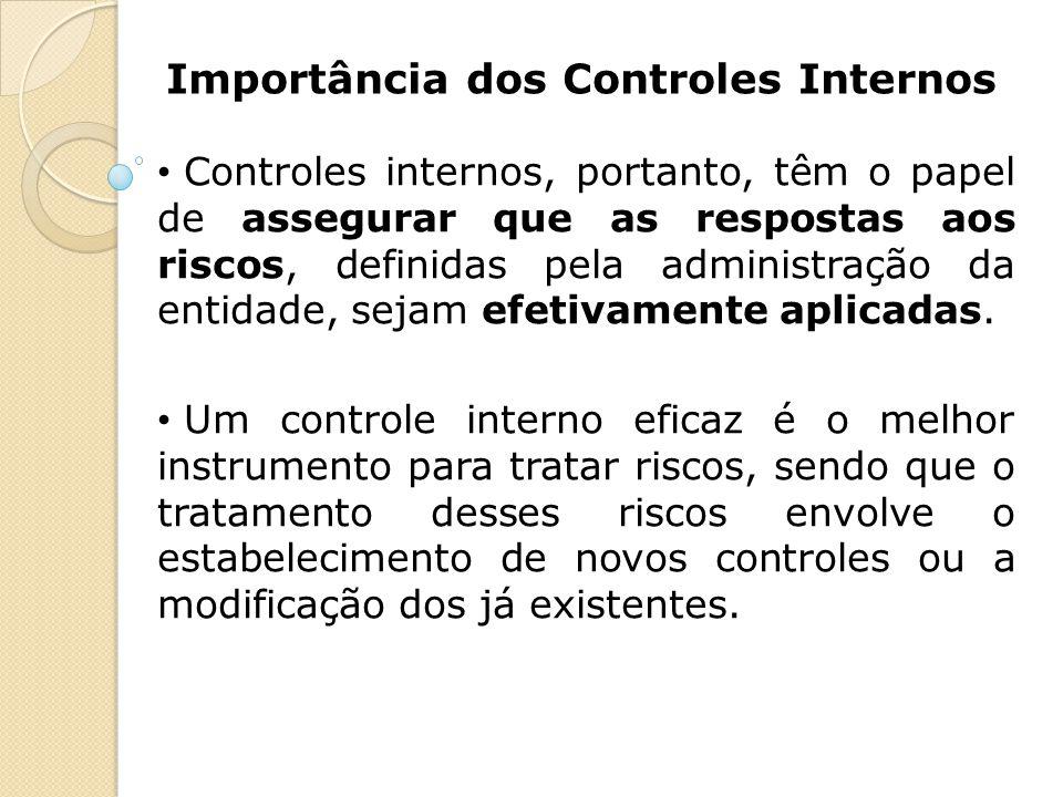 Importância dos Controles Internos