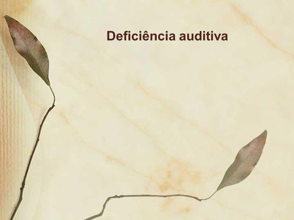 Deficiência auditiva