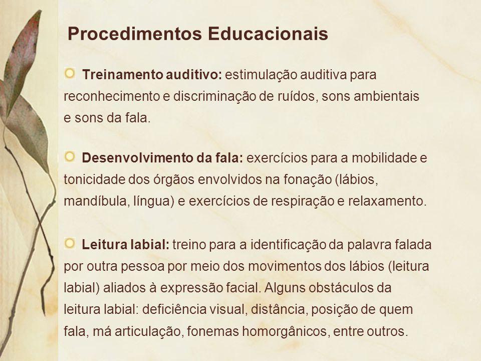 Procedimentos Educacionais