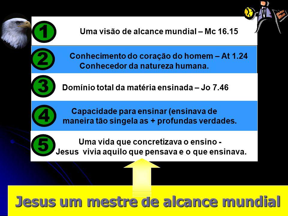 1 2 3 4 5 Jesus um mestre de alcance mundial