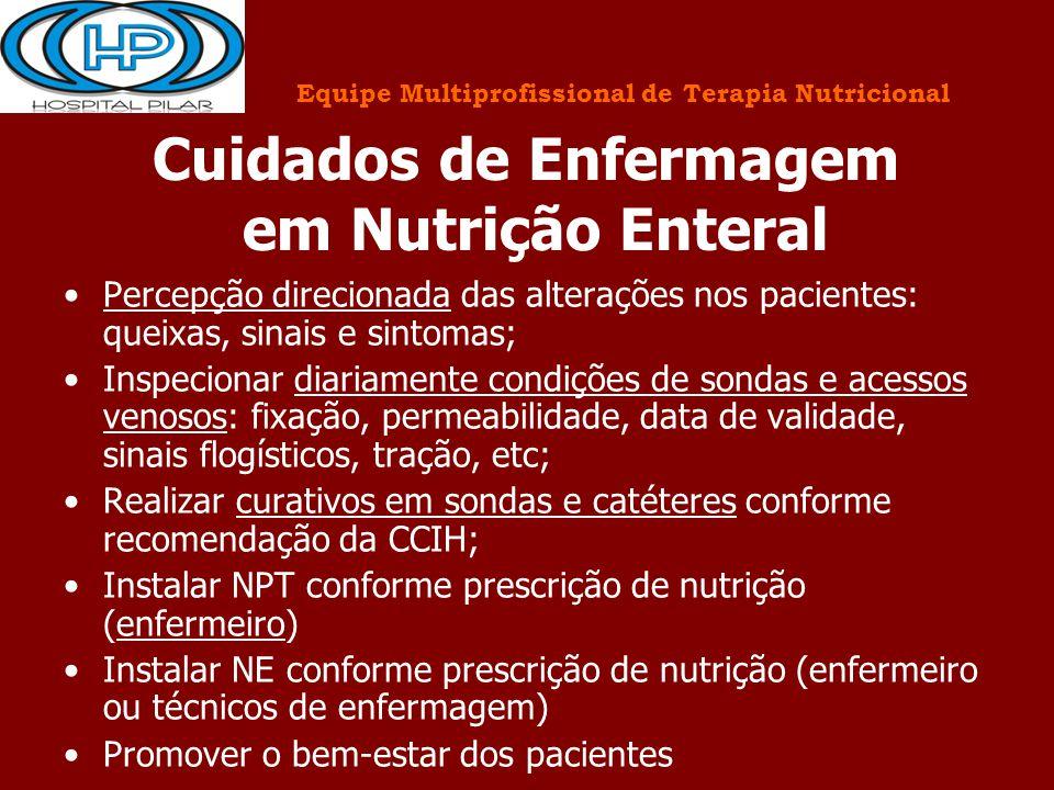 Cuidados de Enfermagem em Nutrição Enteral