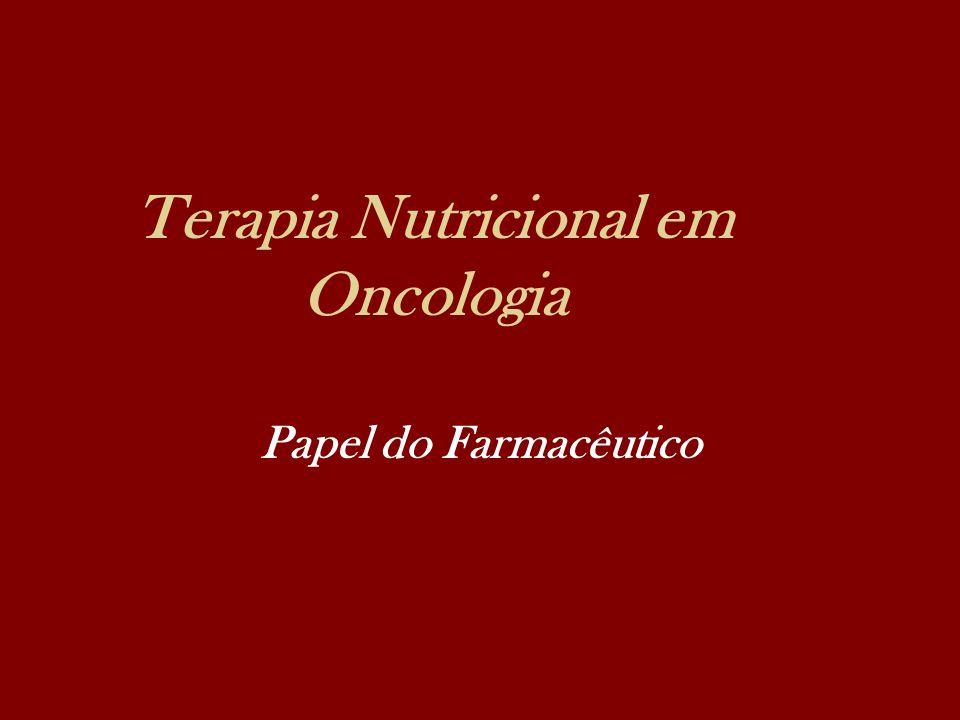 Terapia Nutricional em Oncologia