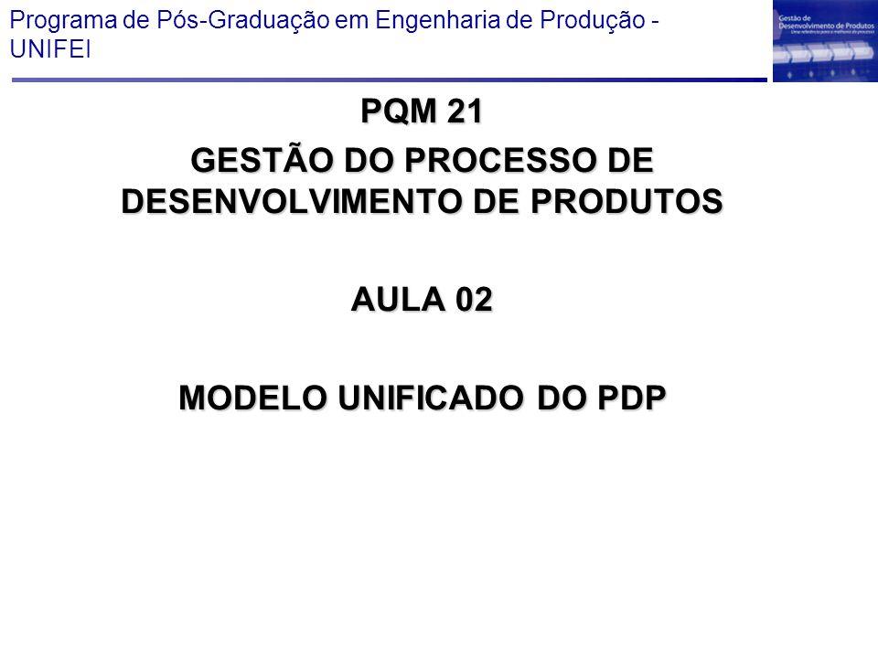 Programa de Pós-Graduação em Engenharia de Produção - UNIFEI
