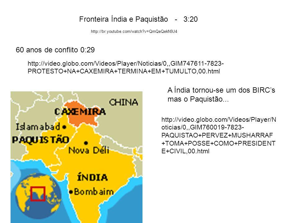 Fronteira Índia e Paquistão - 3:20