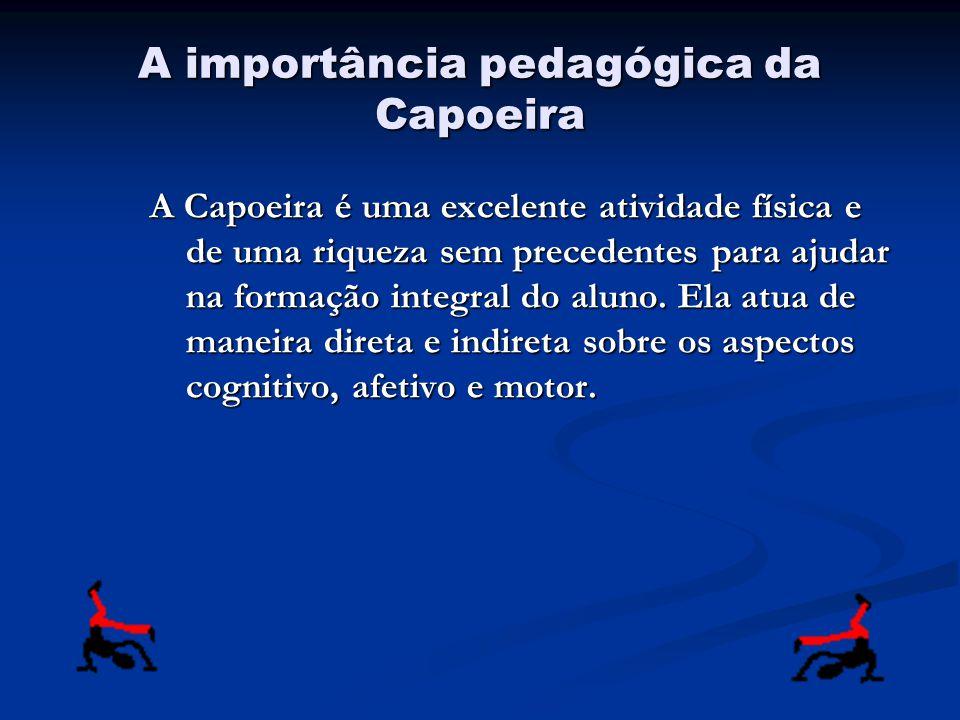 A importância pedagógica da Capoeira