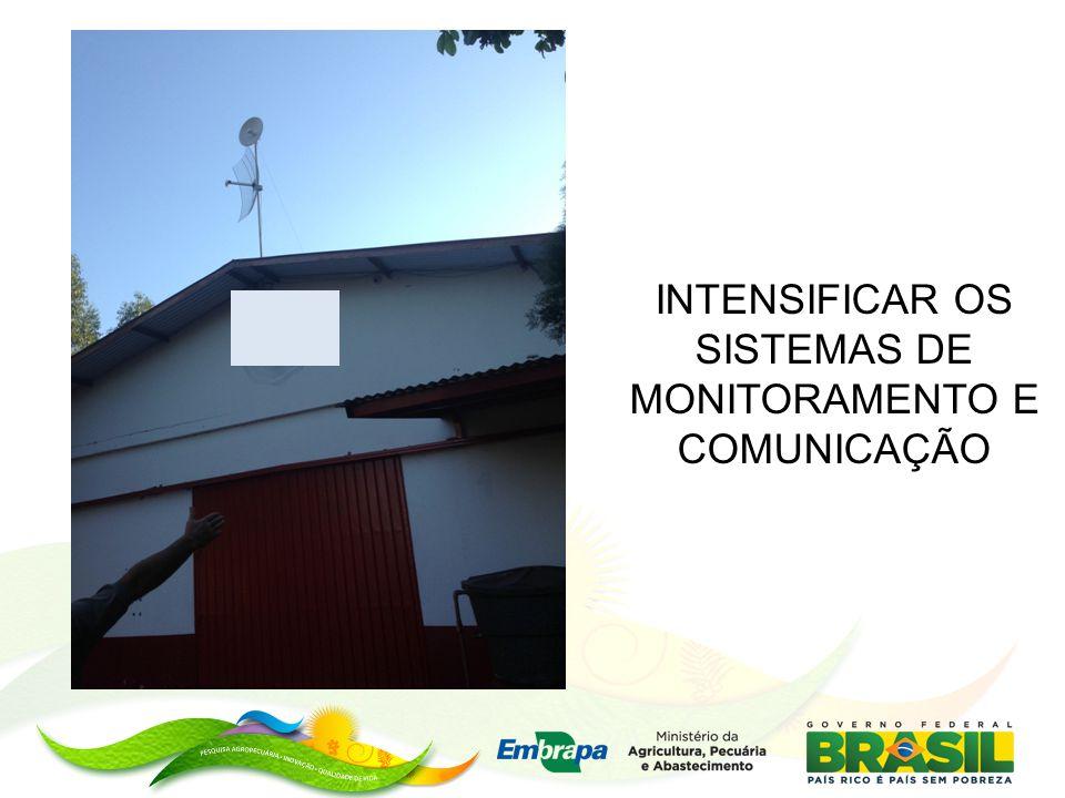 INTENSIFICAR OS SISTEMAS DE MONITORAMENTO E COMUNICAÇÃO