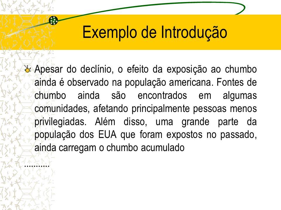 Exemplo de Introdução