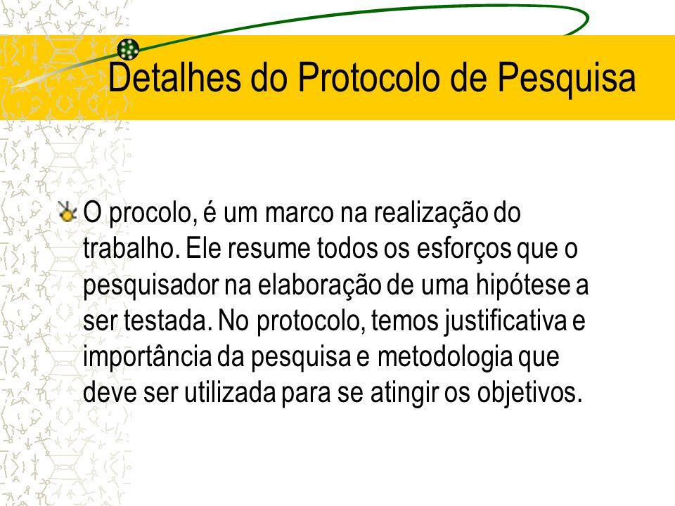 Detalhes do Protocolo de Pesquisa