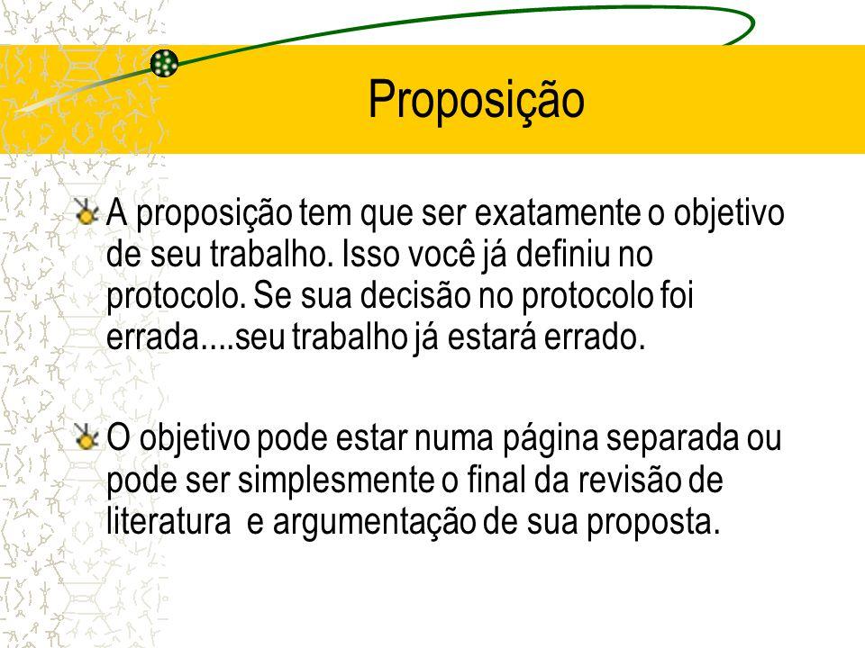 Proposição