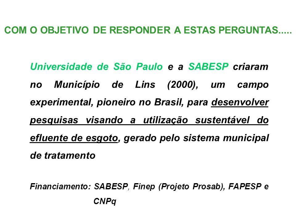 COM O OBJETIVO DE RESPONDER A ESTAS PERGUNTAS.....