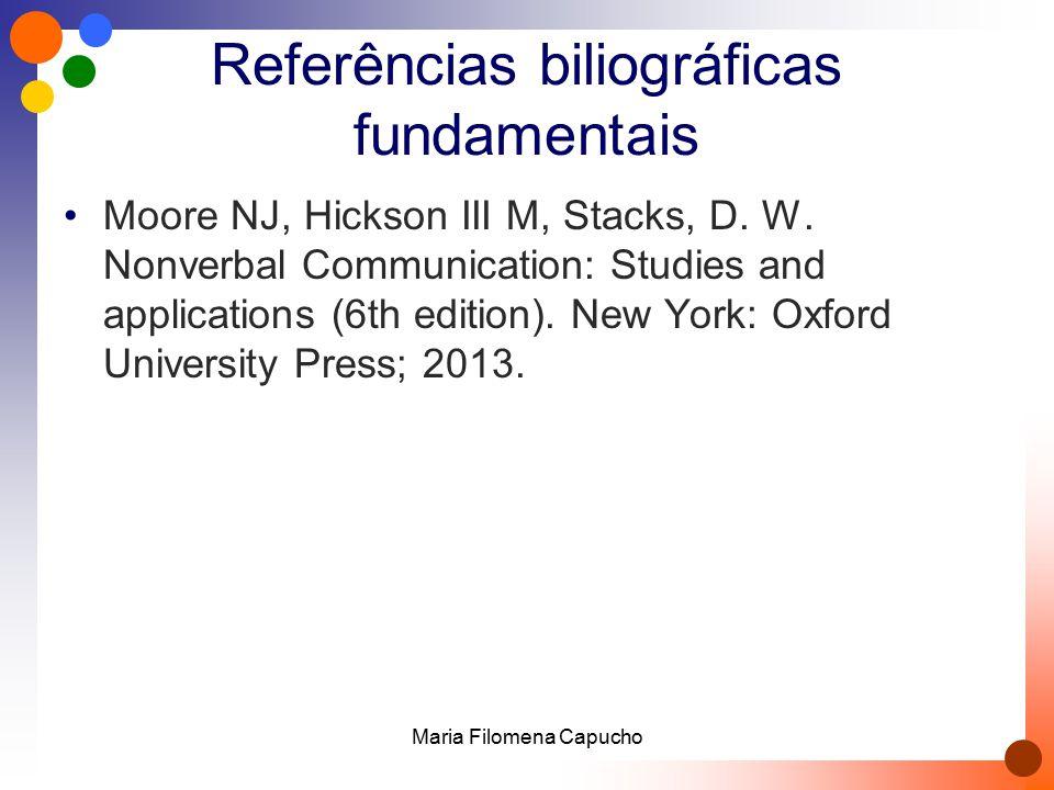 Referências biliográficas fundamentais