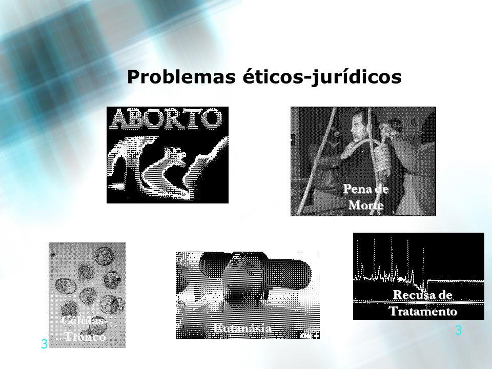 Problemas éticos-jurídicos