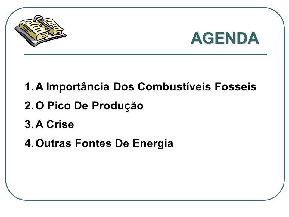 AGENDA A Importância Dos Combustíveis Fosseis O Pico De Produção