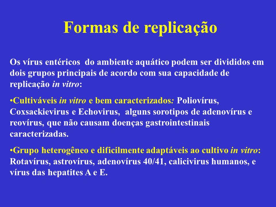 Formas de replicação